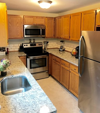 Falmouth Cape Cod vacation rental - All new Stainless Steel Appliances and Granite Countertops