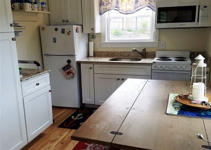 Orleans Cape Cod vacation rental - sit and enjoy your morning coffee