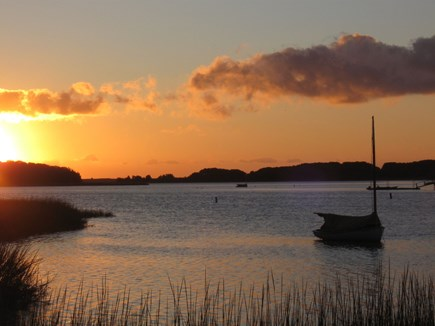 Orleans Cape Cod vacation rental - Sunrise at the end of Higgins Way.