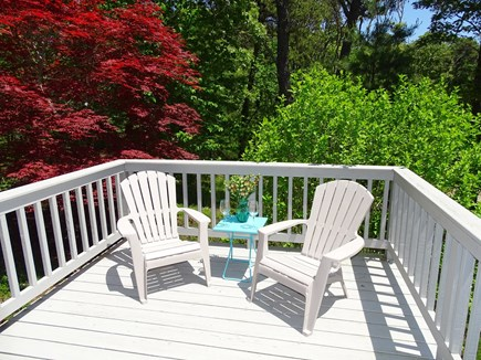 Orleans Cape Cod vacation rental - Bedroom deck