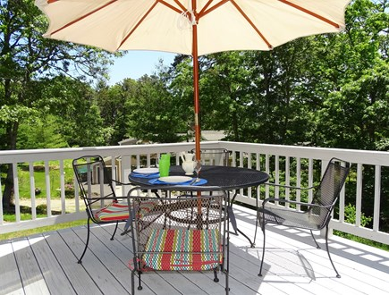 Orleans Cape Cod vacation rental - Large deck for outside dining and water views