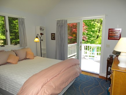 Orleans Cape Cod vacation rental - Bedroom with queen bed and ceiling fan