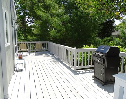 Orleans Cape Cod vacation rental - Outdoor deck with grill — beautiful surroundings