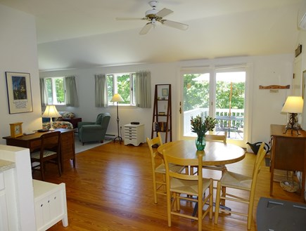 Orleans Cape Cod vacation rental - Open, bright airy floor plan with beautiful wooden floors