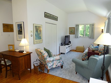 Orleans Cape Cod vacation rental - Living area with flat screen TV and comfortable furniture