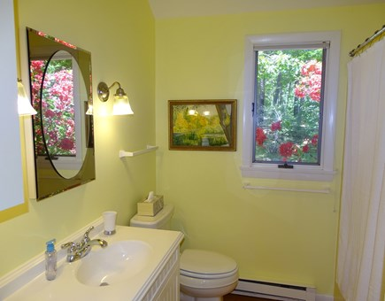 Orleans Cape Cod vacation rental - Full Bath with tub and shower and washer and dryer