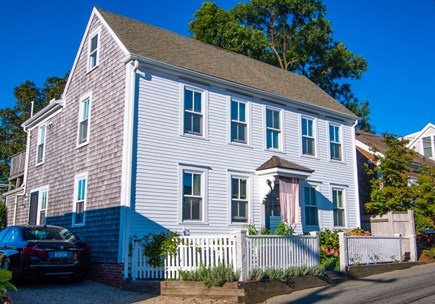 Provincetown Cape Cod vacation rental - Front of house.  Unit is on the 2nd floor.