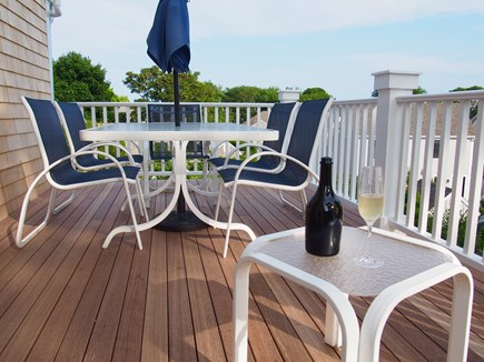 Provincetown Cape Cod vacation rental - Back deck
