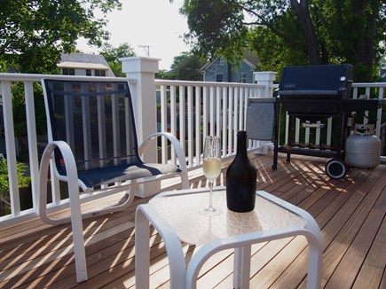Provincetown Cape Cod vacation rental - Back deck, with grill