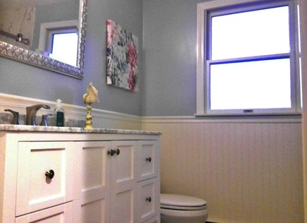 Falmouth, Teaticket Cape Cod vacation rental - Renovated master bathroom