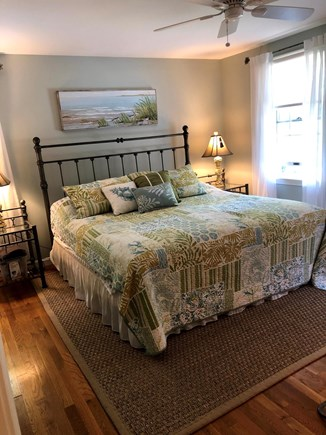Eastham Cape Cod vacation rental - 1st Floor MBR with King Bed and walk in closet