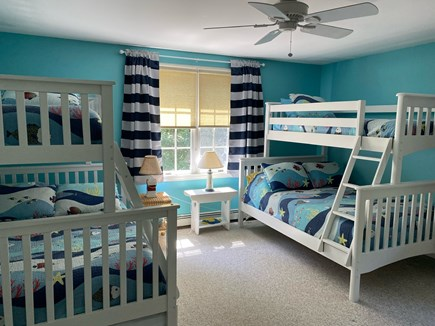 Eastham Cape Cod vacation rental - 2nd Floor BR: 2 Twin/Full Bunks, Twin Trundle
