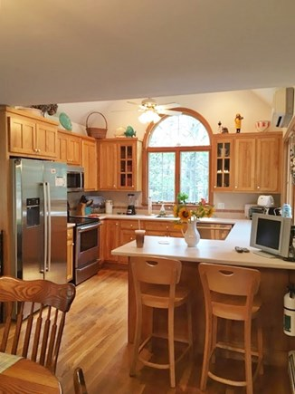 Eastham Cape Cod vacation rental - Bright and open kitchen with breakfast bar