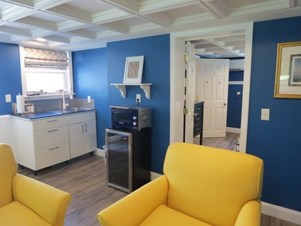 Orleans Cape Cod vacation rental - Loser level lounge area and kitchenette.