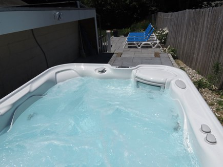 Orleans Cape Cod vacation rental - Is there anything more relaxing than a hot tub?