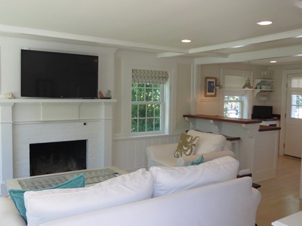 Orleans Cape Cod vacation rental - Upper level living room is open to kitchen