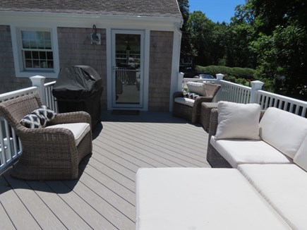 Orleans Cape Cod vacation rental - Upper level deck is a second outdoor living space