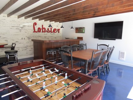Orleans Cape Cod vacation rental - Freestanding game room/TV lounge and bar!