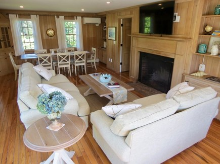 Orleans Cape Cod vacation rental - One of two lounge areas with TVs