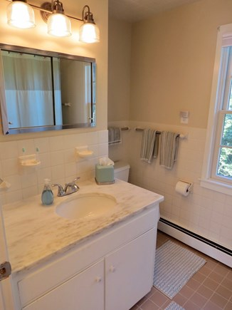Orleans Cape Cod vacation rental - Here's the other full bath.  There's a half bath off the kitchen.