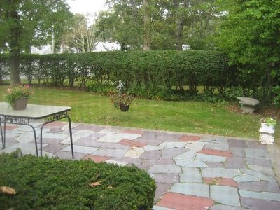 Falmouth Cape Cod vacation rental - Private backyard patio