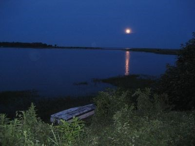 Falmouth Cape Cod vacation rental - Evening view from front lawn