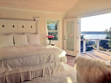 East Orleans Cape Cod vacation rental - Romantic Master Bedroom with Hilltop View