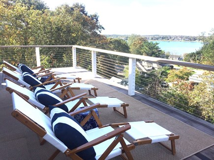 East Orleans Cape Cod vacation rental - Hilltop View Sunbathing
