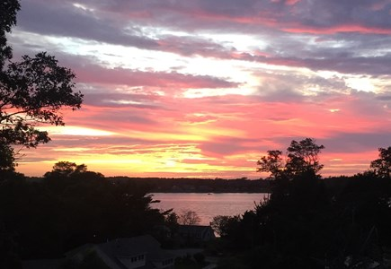 East Orleans Cape Cod vacation rental - Sunset at Hilltop View