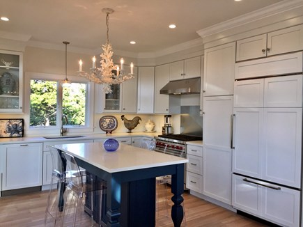East Orleans Cape Cod vacation rental - Eat-in Kitchen with Wolf and Sub-Zero