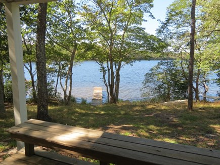 Orleans Cape Cod vacation rental - The lot is slightly elevated, which enhances the lake views.