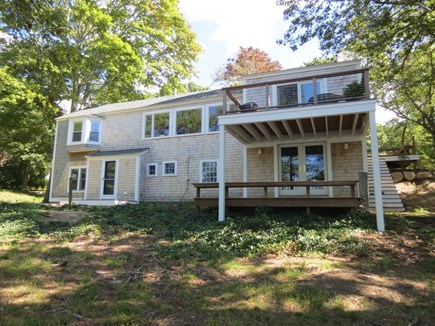 Orleans Cape Cod vacation rental - Two decks maximize the water views