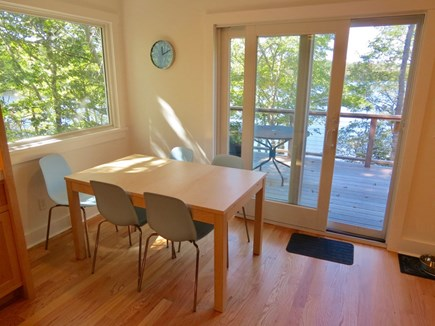 Orleans Cape Cod vacation rental - Dine with a water view.