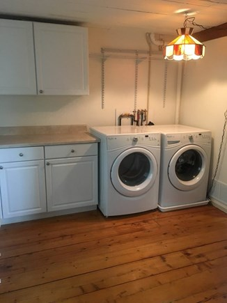 New Seabury, Popponesset Island  New Seabury vacation rental - Full laundry room on first floor with new washer and dryer.