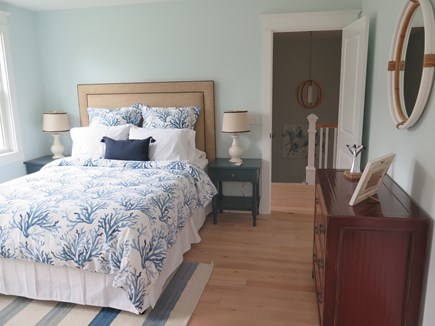 Brewster Cape Cod vacation rental - Bedroom #3 facing the front of the house and the pond