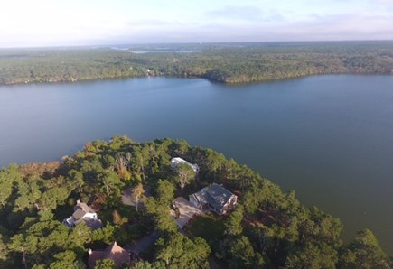 Brewster Cape Cod vacation rental - Upper Mill Pond and the home