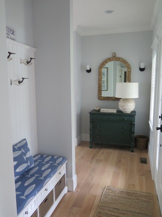 Brewster Cape Cod vacation rental - A foyer where you are invited to drop your shoes and stay