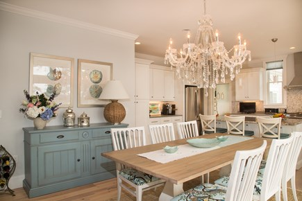Brewster Cape Cod vacation rental - Dining room with seating for 6, open kitchen