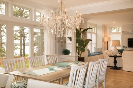 Brewster Cape Cod vacation rental - Dining with water view
