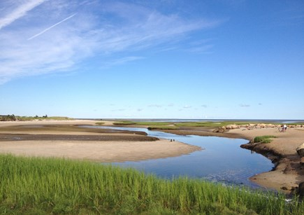 Brewster Cape Cod vacation rental - Paines Creek at low tide, exceptional sunsets!
