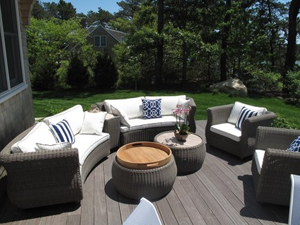 Brewster Cape Cod vacation rental - Outdoor lounge seating, comfortable to relax at any time