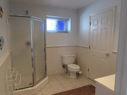 Sagamore Beach, Bourne Sagamore Beach vacation rental - Basement large bathroom with walk in shower