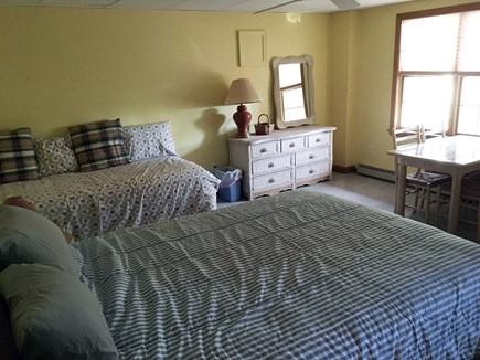 South Wellfleet Cape Cod vacation rental - Parent-Child Room with a Single and a Queen Sized Bed.
