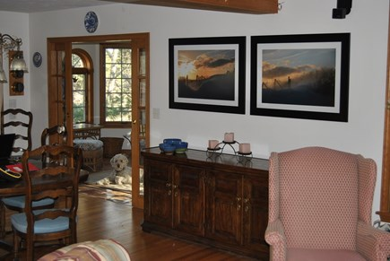 South Wellfleet Cape Cod vacation rental - The Dining Room