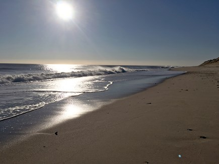 South Wellfleet Cape Cod vacation rental - Nearby LeCount Hollow Beach at Sunrise