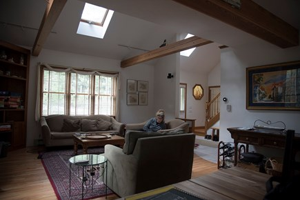 South Wellfleet Cape Cod vacation rental - The main gathering area as seen from the dining room.