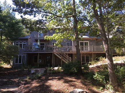 South Wellfleet Cape Cod vacation rental - Rear of the house. All Bedrooms have views of the Cove