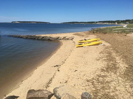 South Wellfleet Cape Cod vacation rental - Our Yellow Kayaks are available to qualified users.