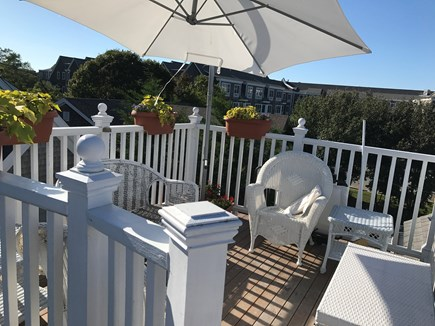 Provincetown Cape Cod vacation rental - 3rd floor deck with water view