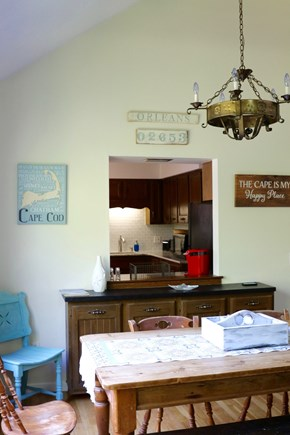 Orleans Cape Cod vacation rental - Family dining room with views into kitchen